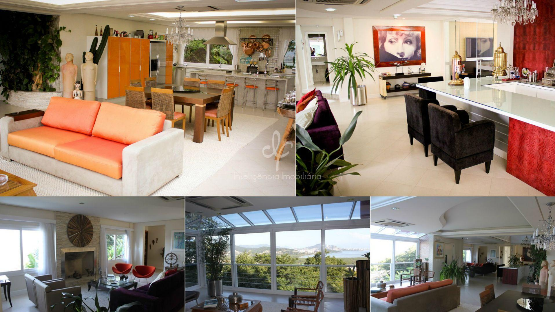 Casa Espetacular com Vista Panorâmica em Florianópolis