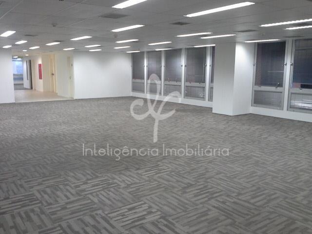 Laje comercial para locação, 669 m², 13 vagas, 12 banheiros, Av. Paulista, Bela Vista, São Paulo.