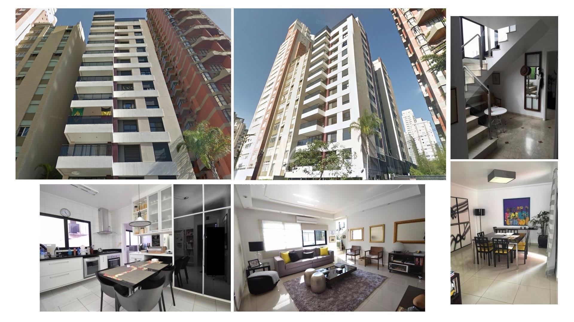 Linda cobertura duplex, 274 m², 4 dormitórios, 3 vagas, Pinheiros, SP/SP