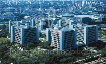 Laje  Comercial com 1422 m², 14 vagas, Santo Amaro, São Paulo.