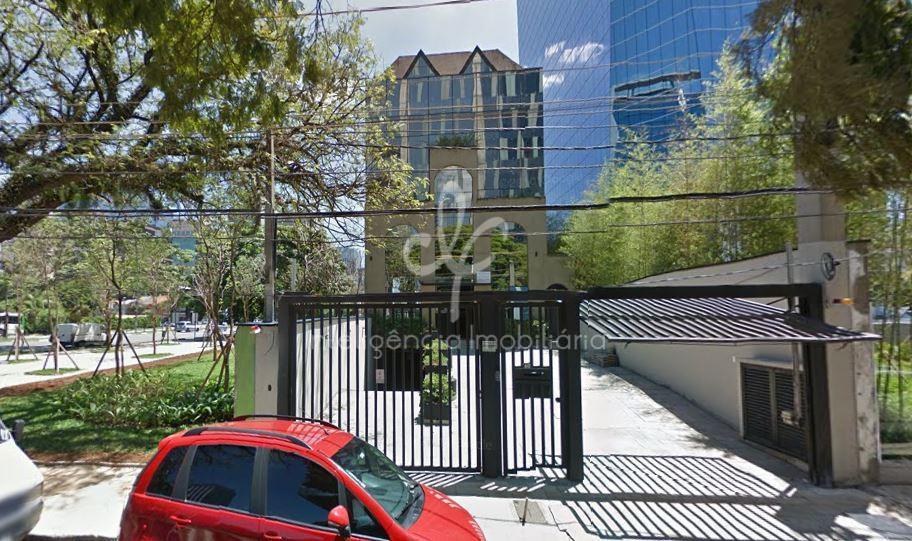 Prédio comercial monousuário com 4 pisos, área de 1.200 m², 25 vagas, Vila Olímpia, São Paulo/SP.