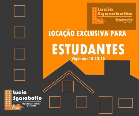 Disponível para locação de Estudante até 15.12.15!