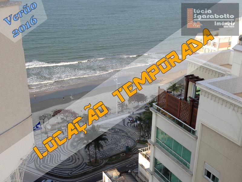 Locação Temporada - Excelente Localização quadra mar Rua 51!!!