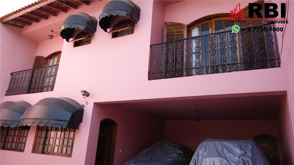 Sobrado residencial à venda, Jardim Monte Cristo, Suzano.