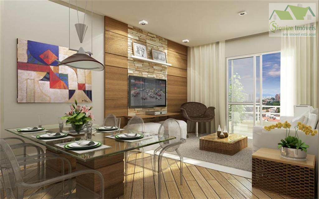 Apartamento residencial à venda, Jaguaribe, Osasco - AP0006.