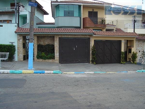 Sobrado residencial à venda, Mooca, São Paulo - SO0856.