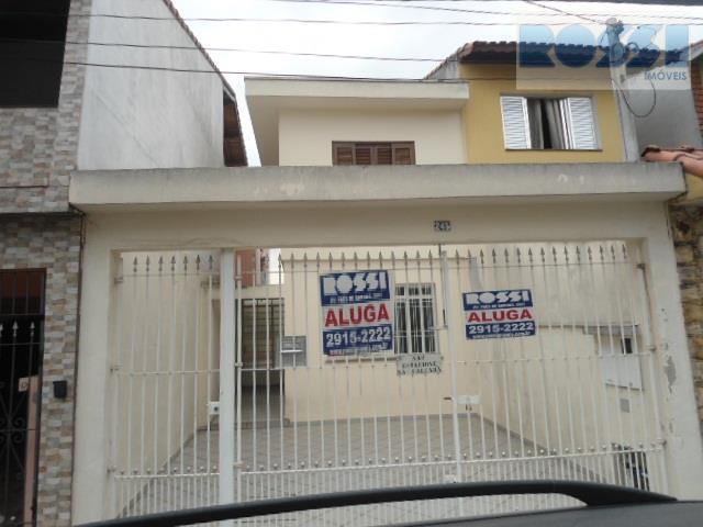 Sobrado  residencial para locação, Vila Tolstoi, São Paulo.