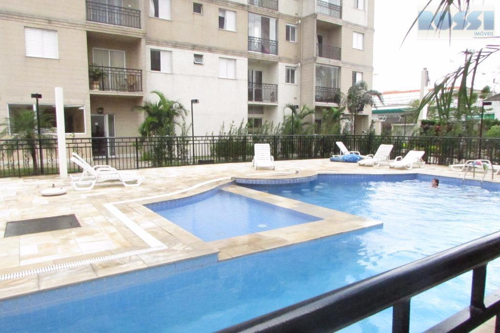 Apartamento mobiliado para locação, Mooca, São Paulo.