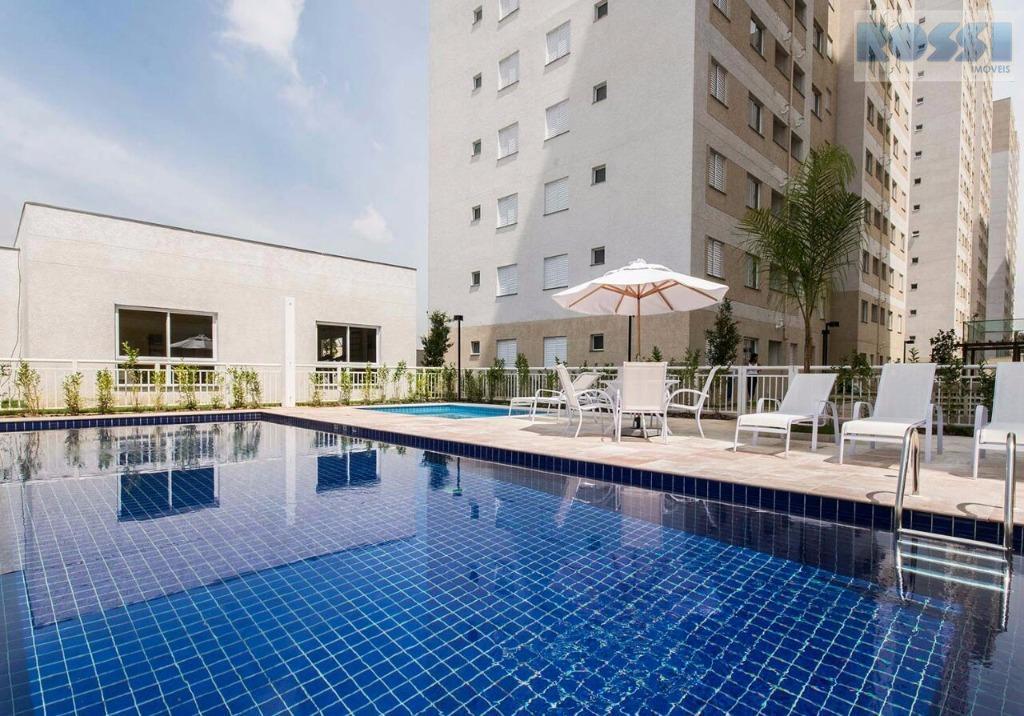 Apartamento residencial à venda, Vila Prudente, São Paulo.