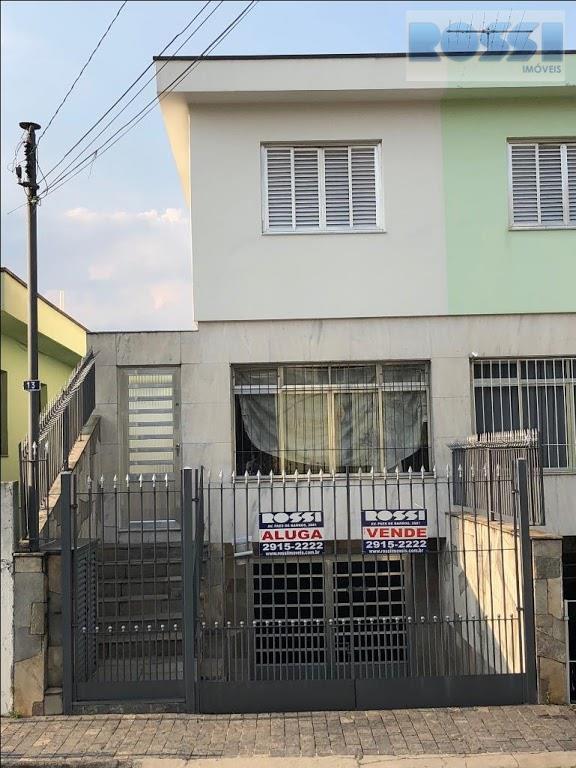 Sobrado residencial à venda com 3 quartos Mooca, São Paulo.