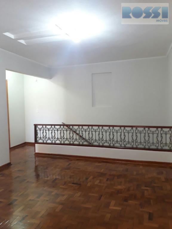 Sobrado residencial para locação, Vila Ema, São Paulo.