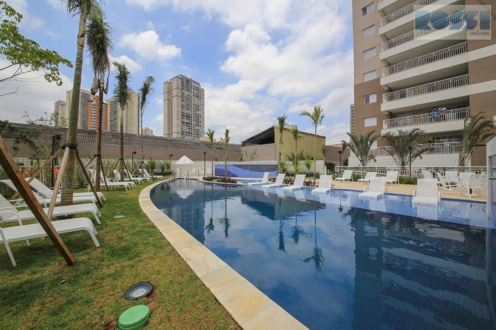 Apartamento Novo c/ varanda gourmet para locação, Vila Prudente, São Paulo.