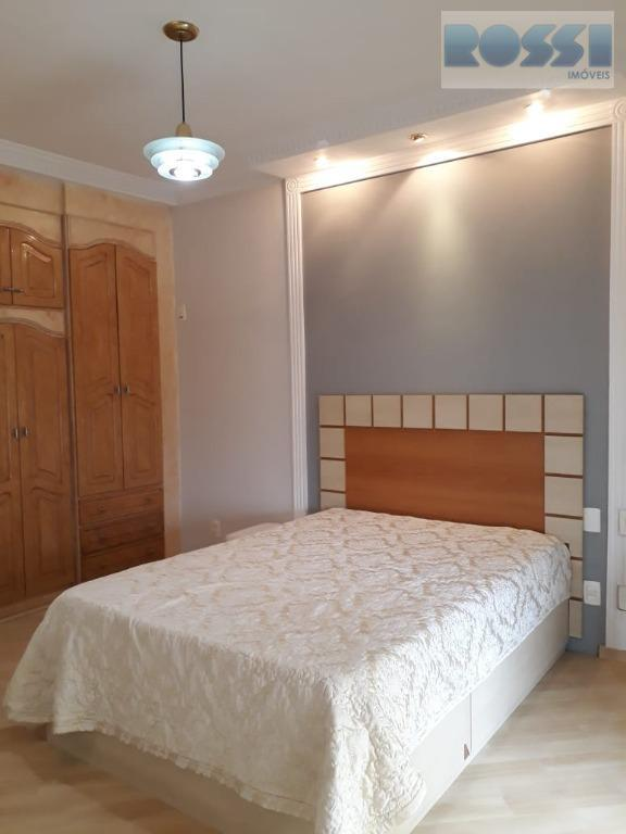 apartamento mobiliado 157 m² - jardim avelino03 dormitórios sendo 03 suítes, sala dois ambientes com sacada,...