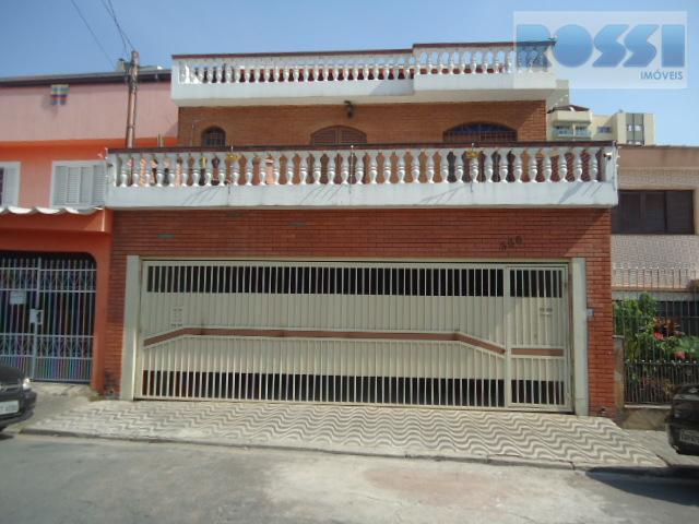 Sobrado residencial à venda, Vila Zelina, São Paulo.