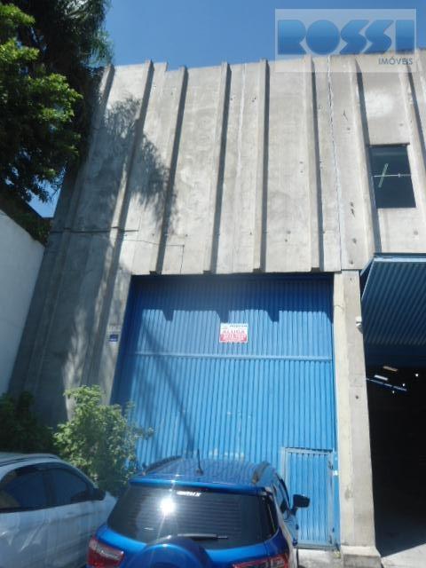 Galpão para alugar, 310 m² por R$ 6.500/mês - Vila Independência - São Paulo/SP