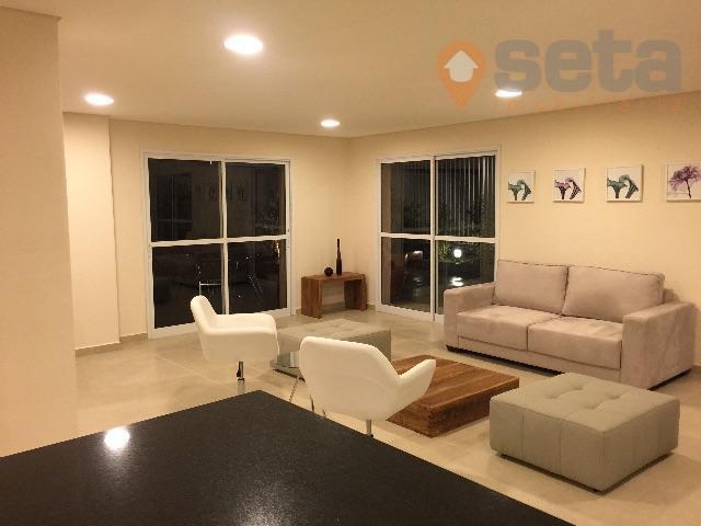 Apartamento residencial à venda, Vila Ema, São José dos Campos - AP1136.