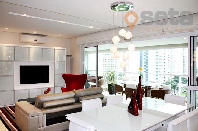 Apartamento residencial à venda, Parque Residencial Aquarius, São José dos Campos - AP1107.