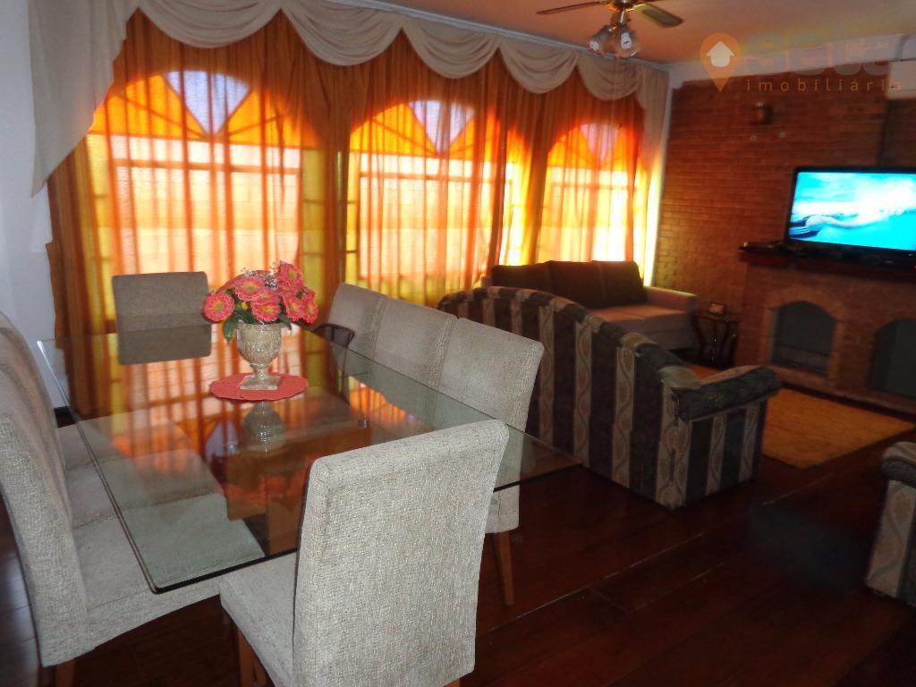 Casa residencial à venda, Jardim das Indústrias, São José dos Campos - CA0860.