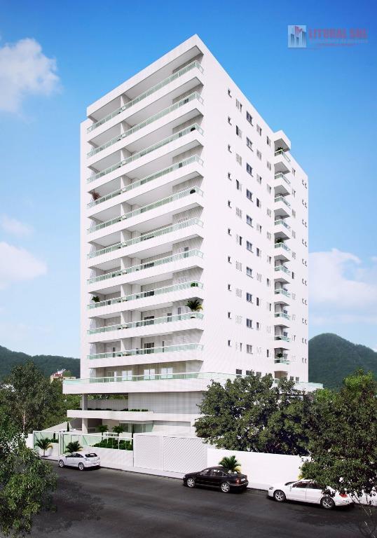 Apartamento  residencial à venda, Boqueirão, Praia Grande.