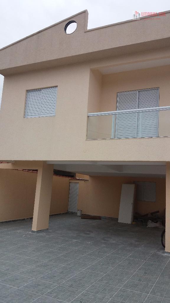 Casa residencial à venda, Vila Sônia, Praia Grande.
