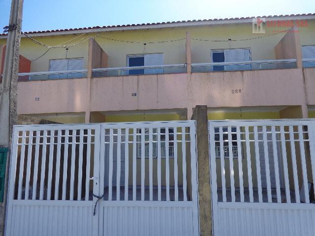 Sobrado  residencial à venda, Tude Bastos (Sítio do Campo), Praia Grande.