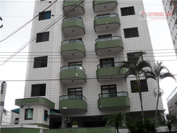 Apartamento 02 dormitórios - Aviação - sacada vista para o mar