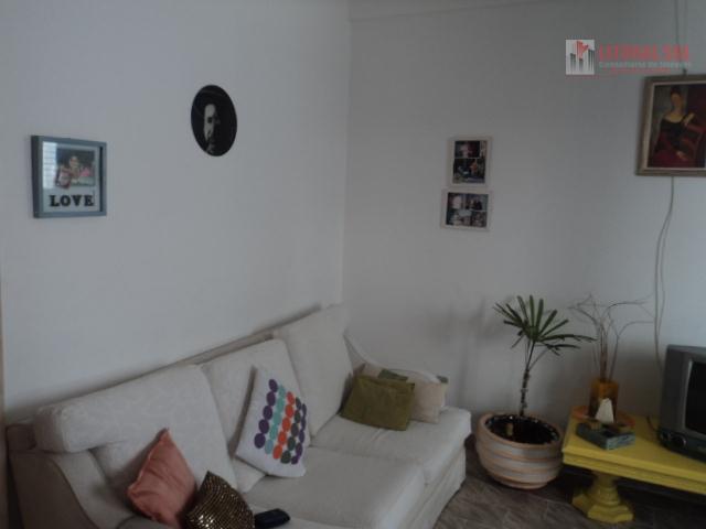 Kitnet residencial à venda, Vila Tupi, Praia Grande.