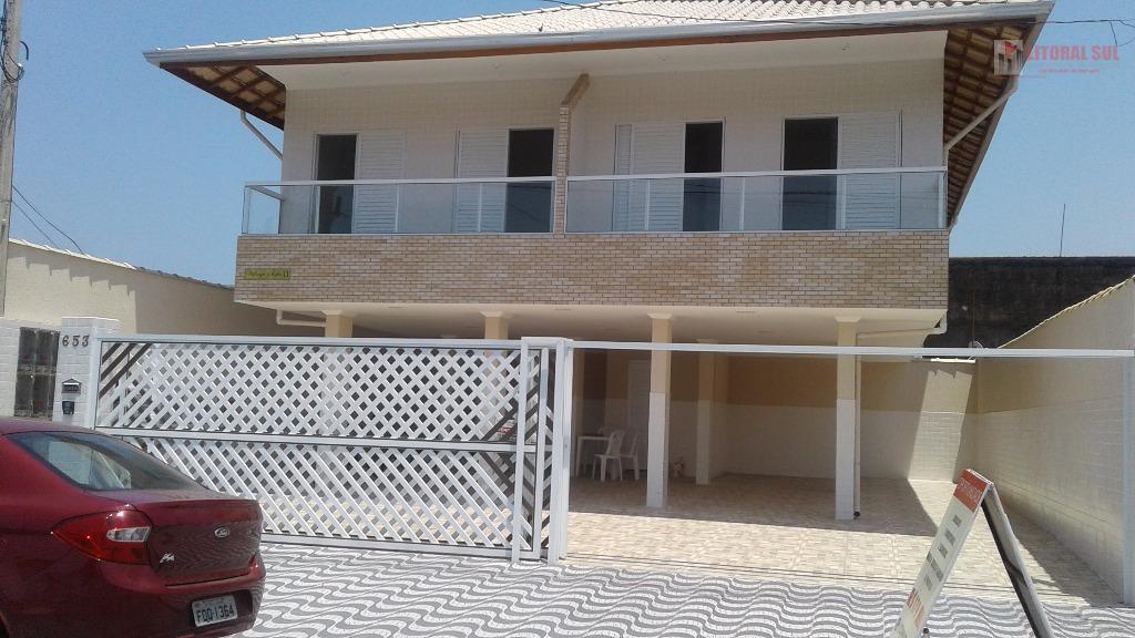Sobrado 02 dormitórios Tude Bastos, Praia Grande, sendo 01 sala, 01 cozinha, 01 lavabo, 01 Banheiro, 01 quintal, 01 vaga de gara