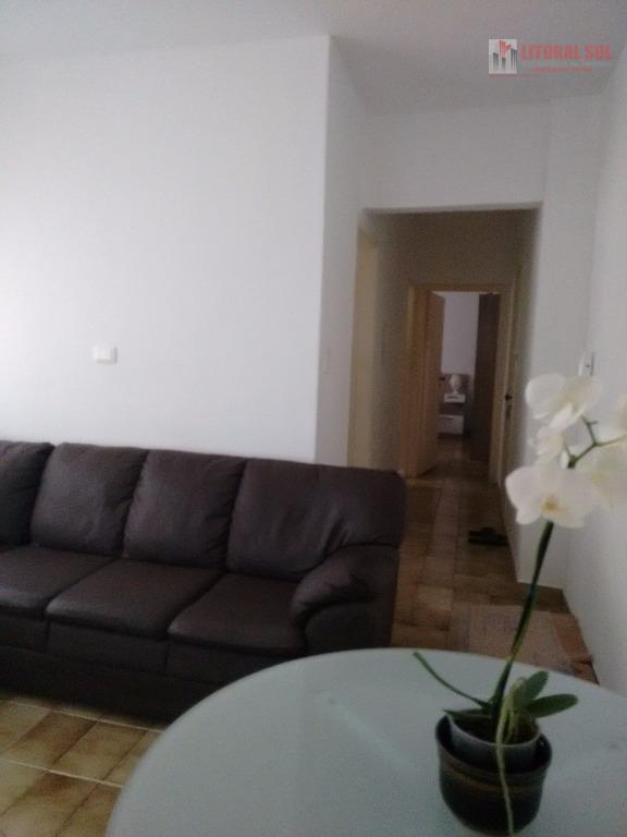 Apartamento de 01 dormitorio Praia Grande Guilhermina sendo 01 vaga de garagem 01 cozinha 01 lavanderia 01 sala 01 dormitorio ot