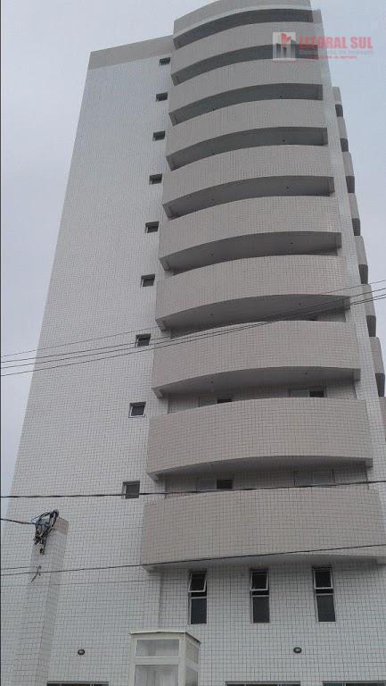 Apartamento 01 dormitório na Vila Guilhermina em Praia Grande, com 01 suíte, 02 banheiros, 01 lavanderia, 01 cozinha, 01 sala co