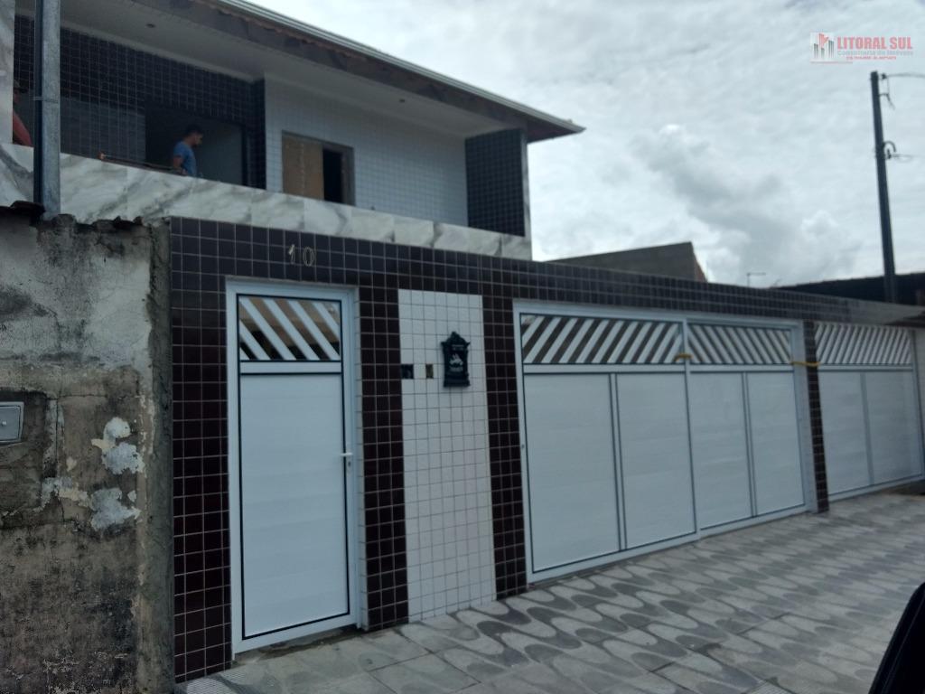 Casa de condominio fechado em Praia Grande Parque das America sendo de condominio fechado com cozinha , banheiro , lavanderia ,