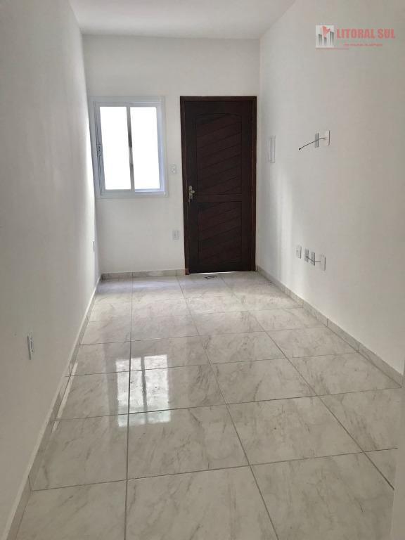 Sobrado residencial para locação, Vila Guilhermina, Praia Grande.