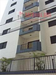 Apartamento 02 DORMITÓRIOS, na Ocean SENDO 1 SUÍTE 1 SALA 1 VAGA DE GARAGEM ELEVADOR SOCIAL, PORTÃO AUTOMÁTICO, LAVANDERIA, SALÃ