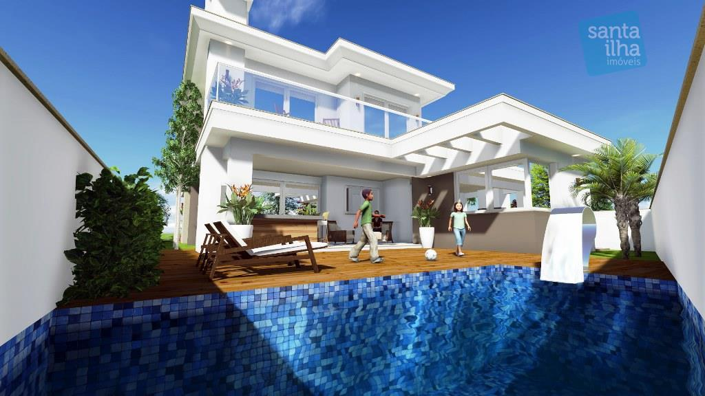 Casa  alto padrão 4 suítes, condomínio no Campeche, Florianópolis.