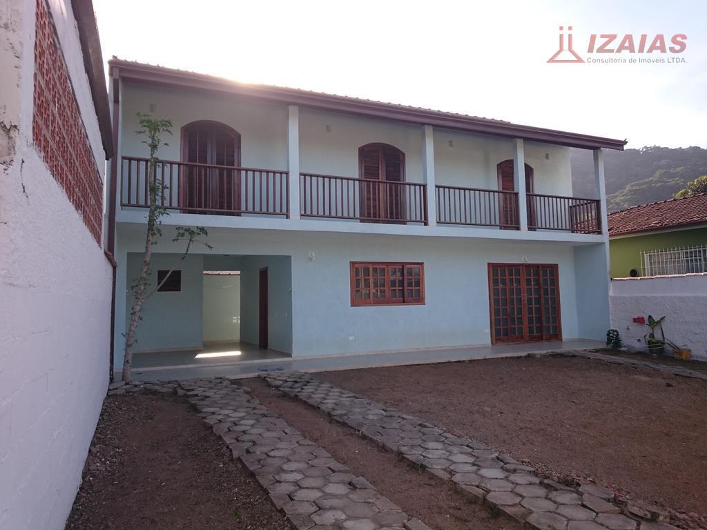 Casa residencial para locação, Perequê-Açu, Ubatuba - CA0128.