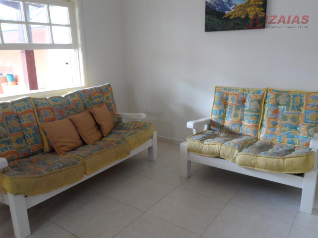 Bela casa para locação de temporada com 3 dormitórios e 3 banheiros- churrasqueira
