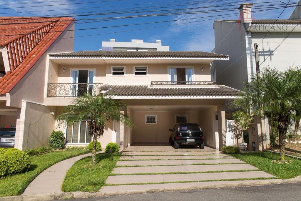 Sobrado residencial à venda, Santo Inácio, Curitiba.