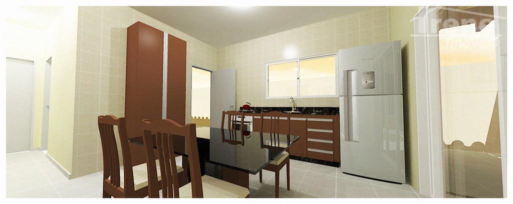 fotos ilustrativas podendo sofrer algumas alterações casa cibratel ii2 dormitórios sendo 01 suite.sala, cozinha americana garagem...
