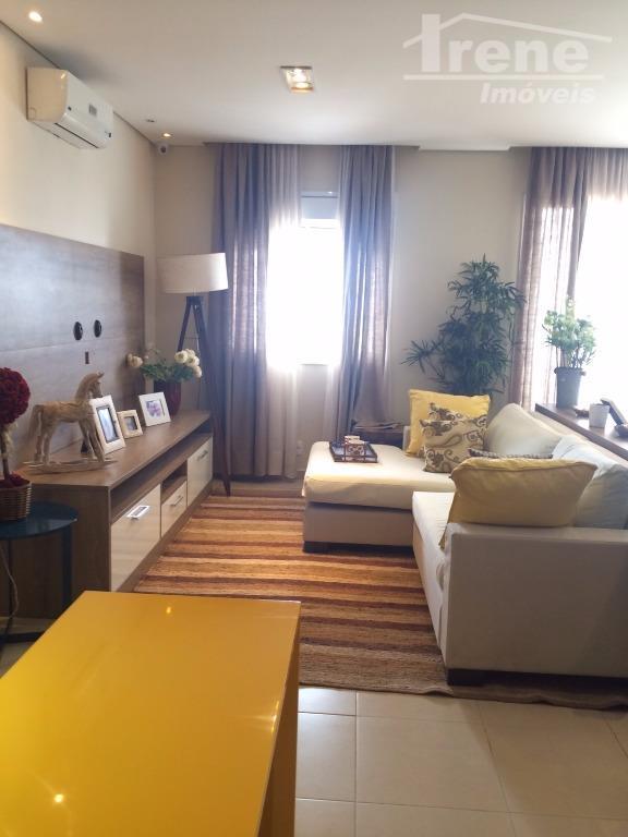 Apartamento decorado para visitação