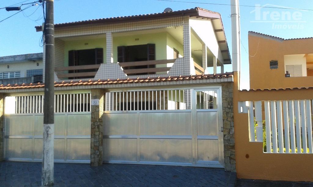 Sobrado residencial para venda e locação, Balneário Aclimação, Itanhaém.