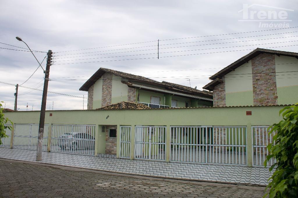 Sobrado residencial para locação, Jardim Marilú, Itanhaem.