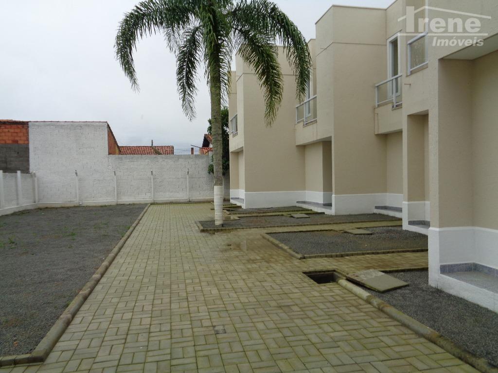 Sobrado residencial à venda, Jardim Bopiranga, Itanhaém.