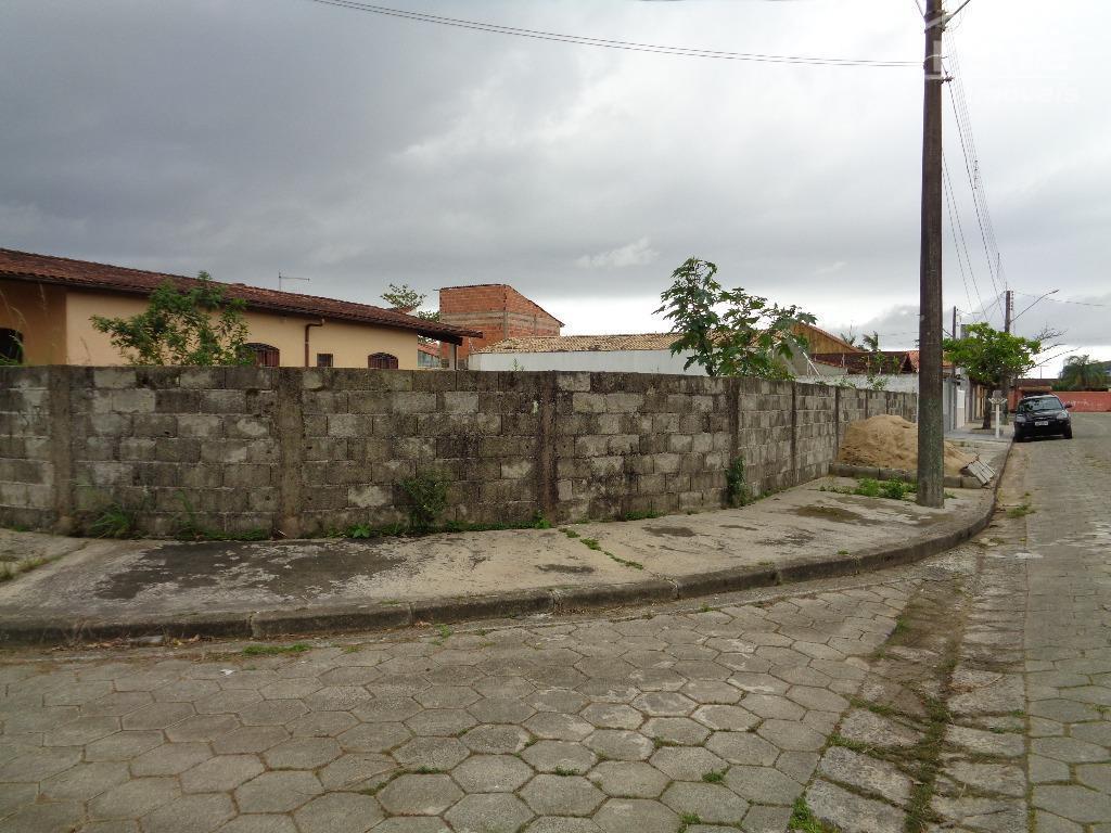 Terreno residencial à venda, Balneário Jardim de Itanhaém (F/Grandesp), Itanhaém.