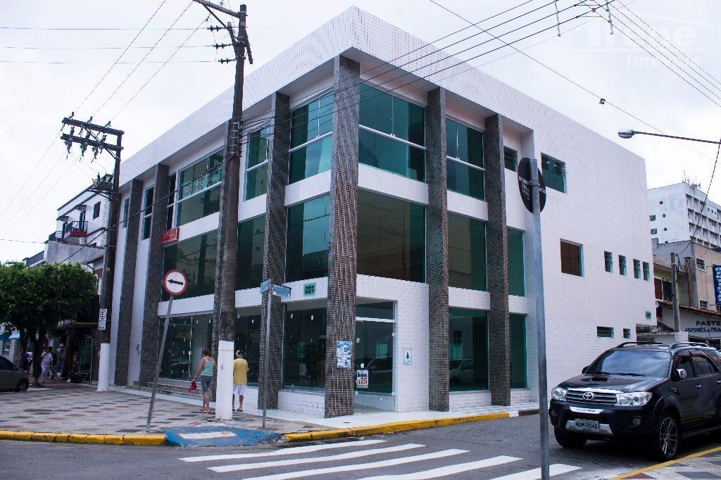 Salão comercial para locação, Centro, Mongaguá - SL0012.