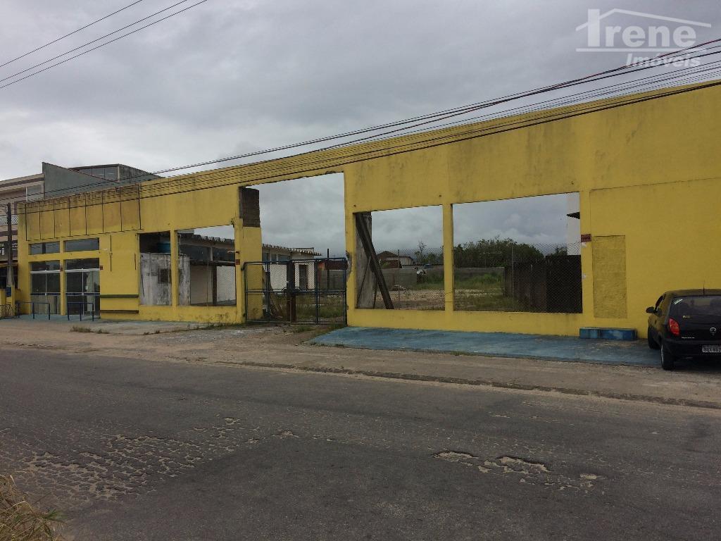 Galpão comercial para locação, Savoy, Itanhaém - GA0013.