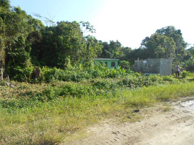 terreno plano com 300m²excelente para casa geminada. bairro residencial
