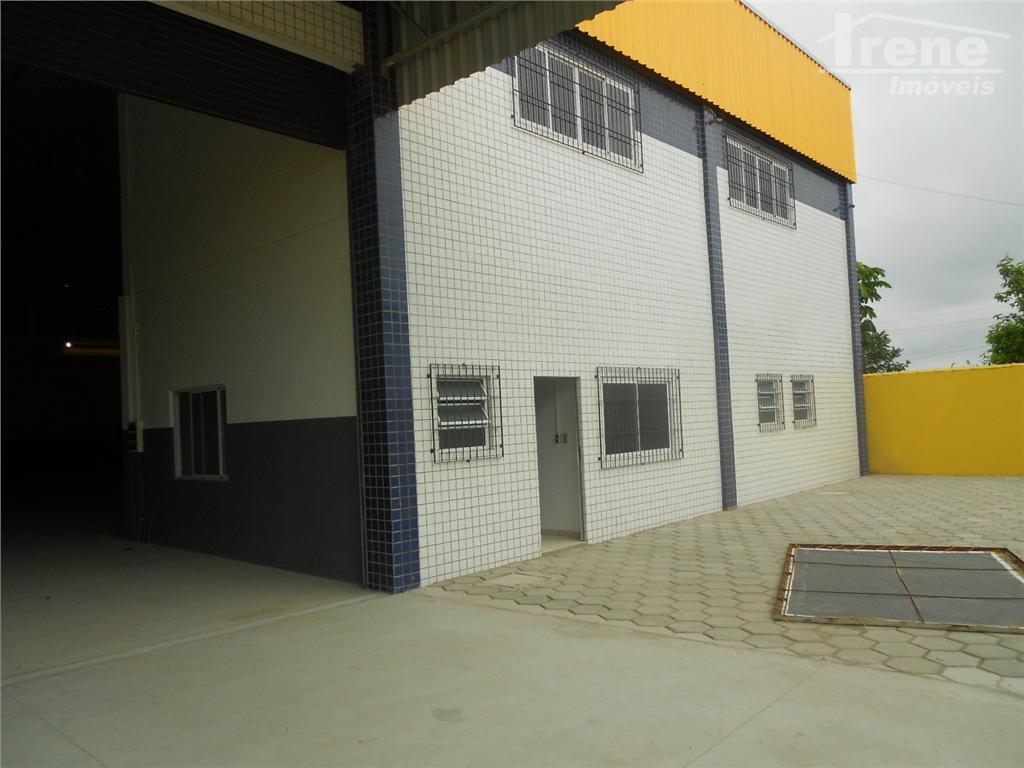 Galpão comercial para locação, Chácaras Cibratel, Itanhaem.