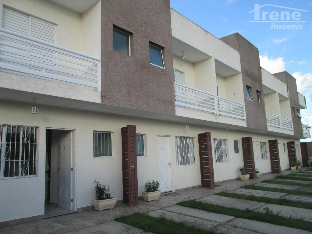 Sobrado em Condomínio, Cibratel I, Itanhaém.