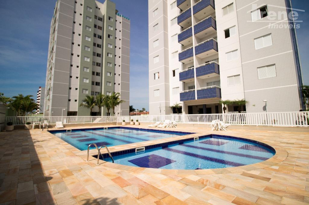 Apartamento residencial para locação, Jardim Iberá, Itanhaem.