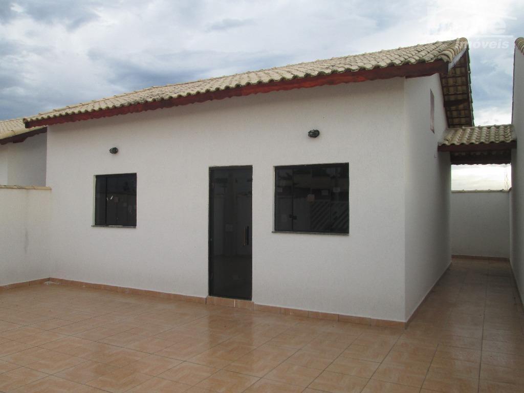 casa nova no jardim jamaica02 dormitórios01 banheirossala, cozinha, área de serviço, quintal e garagem para 03...